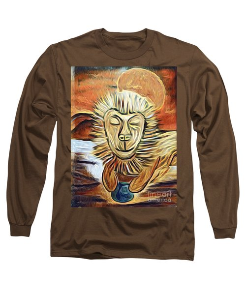 Lion Of Judah II Long Sleeve T-Shirt
