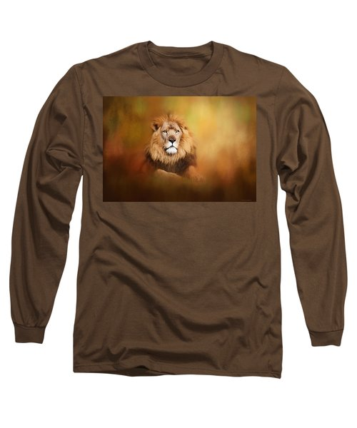 Lion - Pride Of Africa I - Tribute To Cecil Long Sleeve T-Shirt