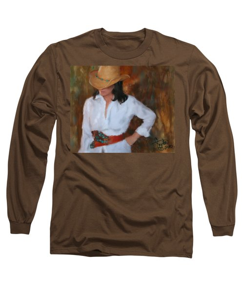 Liquid Turquoise Long Sleeve T-Shirt