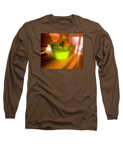 Little Green Apples Long Sleeve T-Shirt by Bill OConnor