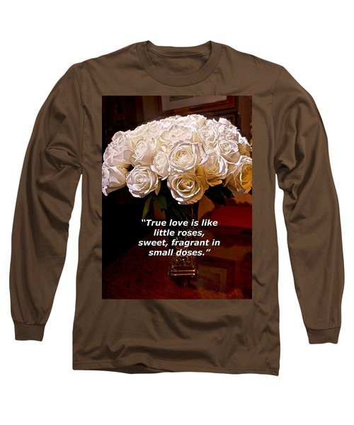 Little Love Roses Long Sleeve T-Shirt