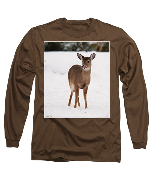 Long Sleeve T-Shirt featuring the photograph Little One by Angel Cher