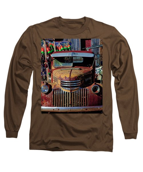 Lobster Pots And Chevys Long Sleeve T-Shirt