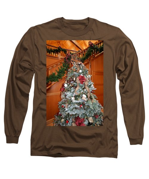Lodge Lobby Tree Long Sleeve T-Shirt