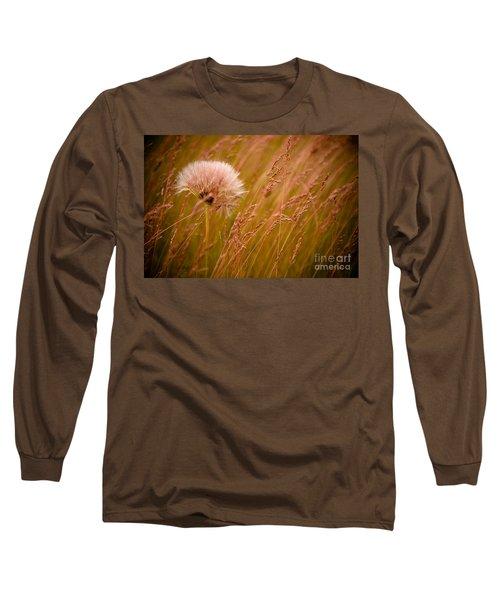 Lone Dandelion Long Sleeve T-Shirt