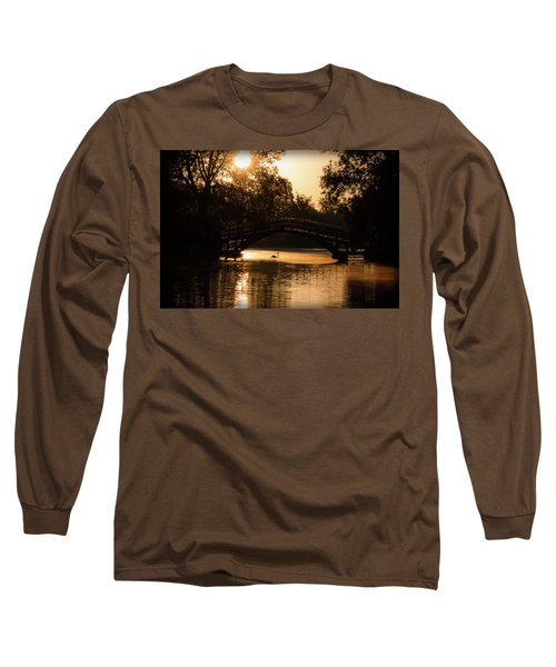 Lone Swan Up For Dawn Long Sleeve T-Shirt