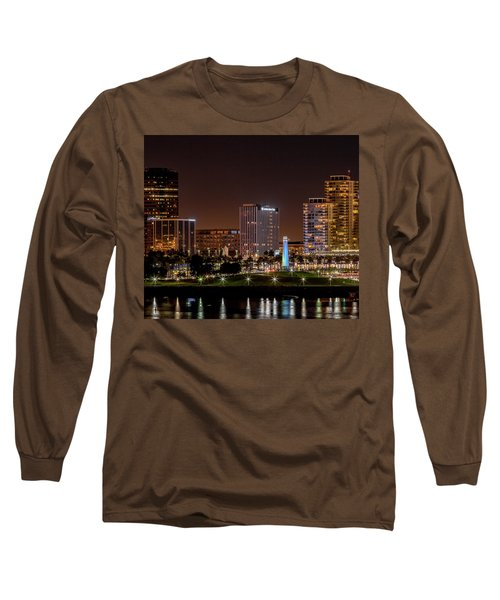 Long Beach A Chip In Time Color Long Sleeve T-Shirt