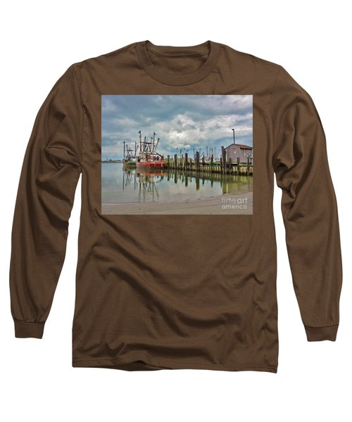Long Beach Island Docks Long Sleeve T-Shirt