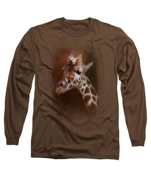 Long Neck Long Sleeve T-Shirt by Jai Johnson