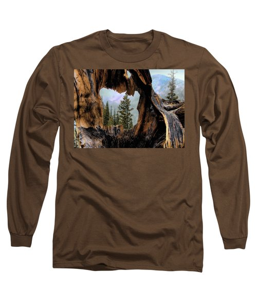 Look Into The Heart Long Sleeve T-Shirt