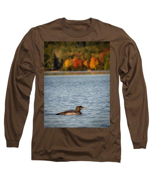 Loon Chick Long Sleeve T-Shirt