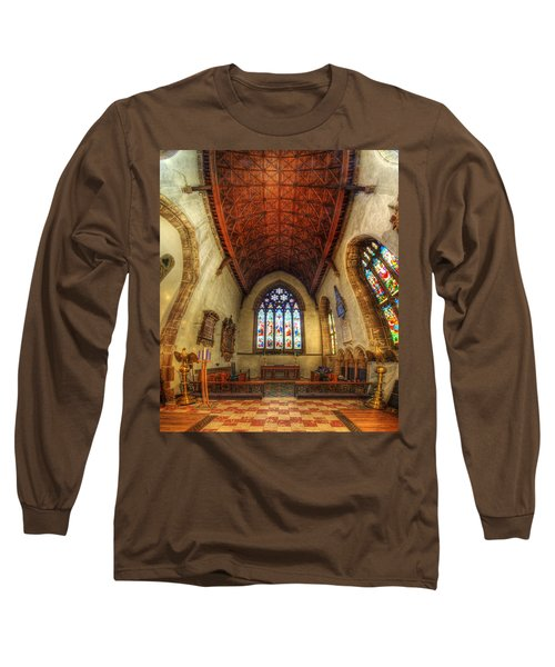 Loughborough Church - Altar Vertorama Long Sleeve T-Shirt