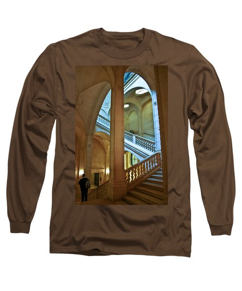 Louvre Stairwell Long Sleeve T-Shirt