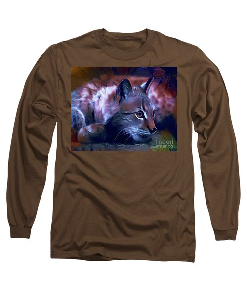 Lovable Feline Long Sleeve T-Shirt