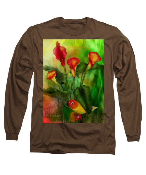 Love Among The Lilies  Long Sleeve T-Shirt