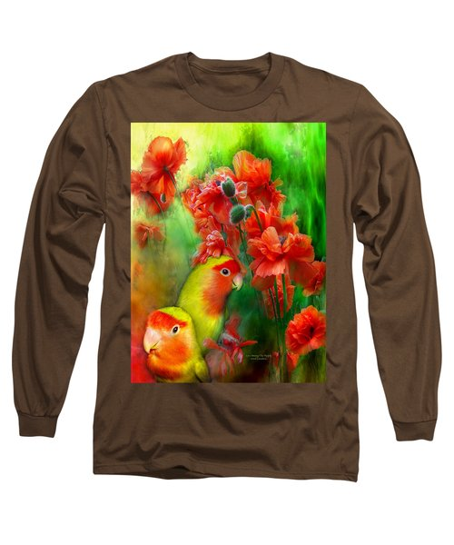 Love Among The Poppies Long Sleeve T-Shirt