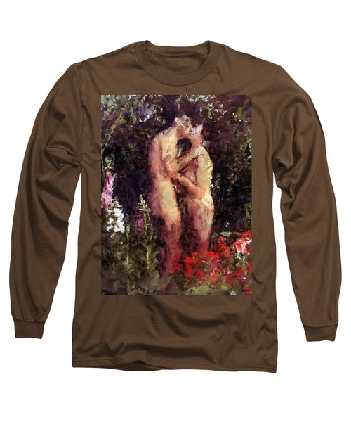 Love Me In The Garden Long Sleeve T-Shirt
