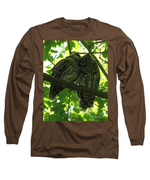 Love Owls Long Sleeve T-Shirt by Lainie Wrightson