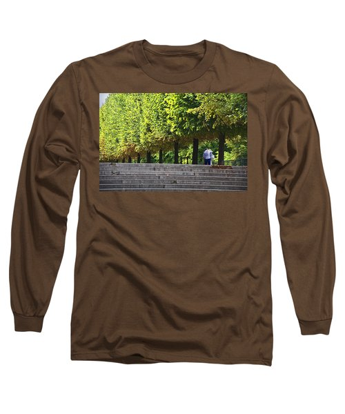 Lovers In The Tuileries Long Sleeve T-Shirt