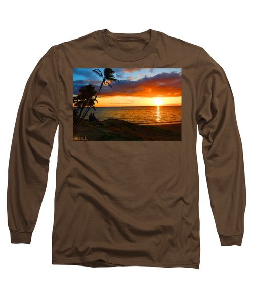 Lovers Paradise Long Sleeve T-Shirt by Michael Rucker