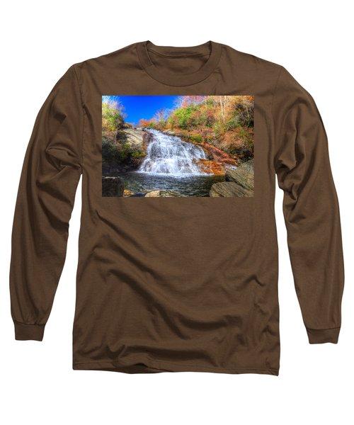 Lower Falls At Graveyard Fields Long Sleeve T-Shirt