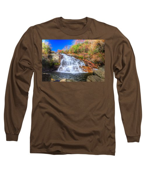 Lower Falls At Graveyard Fields Long Sleeve T-Shirt