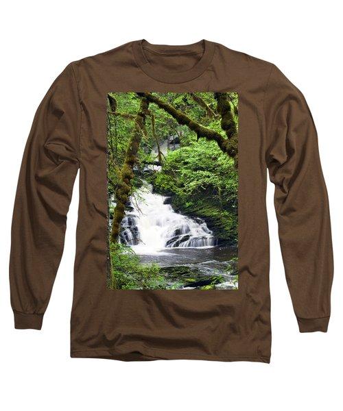 Lower Lunch Creek Falls Long Sleeve T-Shirt