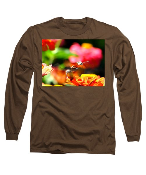 Long Sleeve T-Shirt featuring the photograph Lucky Shot by Ana Maria Edulescu