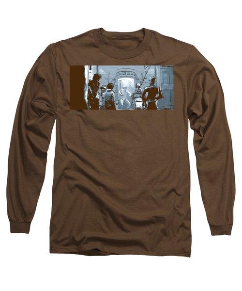 Luke In Bacta Long Sleeve T-Shirt by Kurt Ramschissel