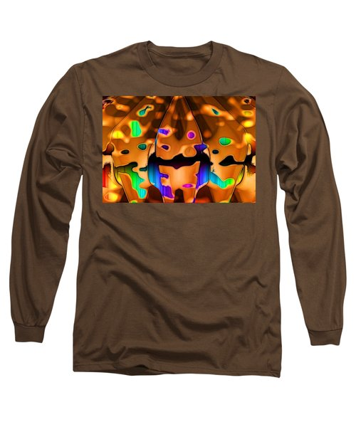 Long Sleeve T-Shirt featuring the digital art Luminence by Ron Bissett