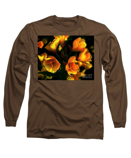 Long Sleeve T-Shirt featuring the photograph Luminous by Elfriede Fulda