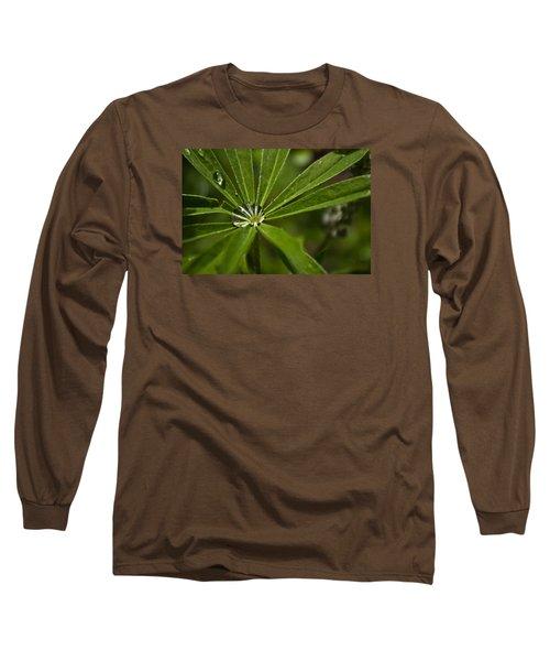 Lupine Leaf Long Sleeve T-Shirt