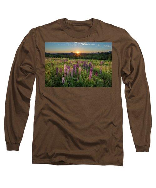 Lupine Sunrise Long Sleeve T-Shirt