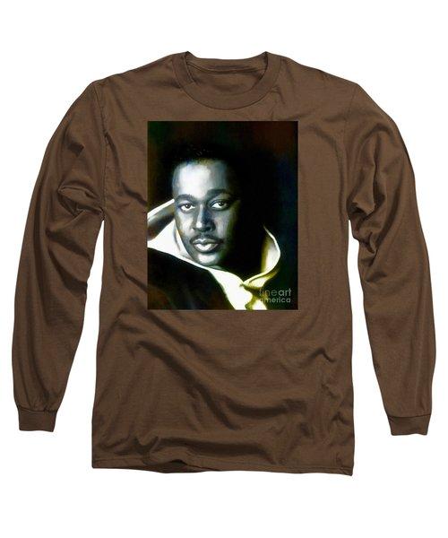 Luther Vandross - Singer  Long Sleeve T-Shirt