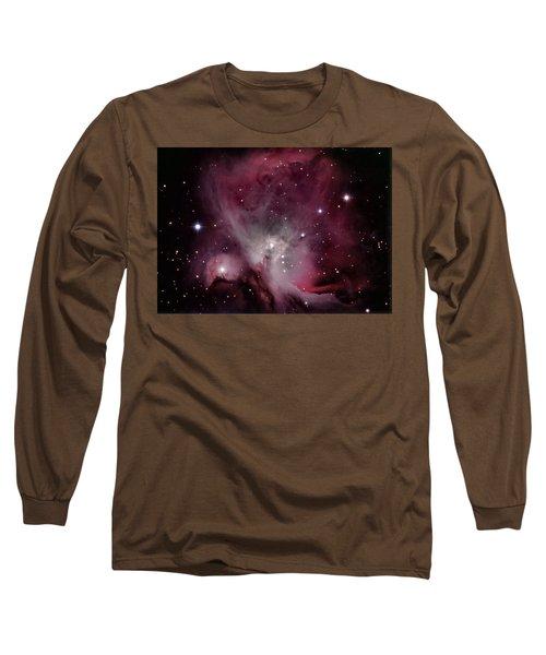 M42 Orion Nebula Long Sleeve T-Shirt