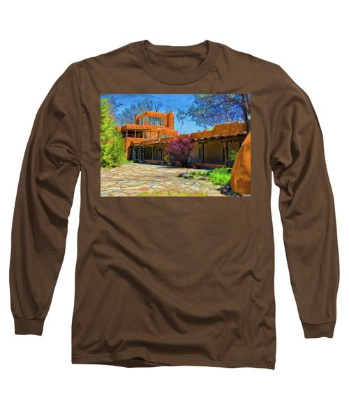 Mabel's Courtyard As Oil Long Sleeve T-Shirt