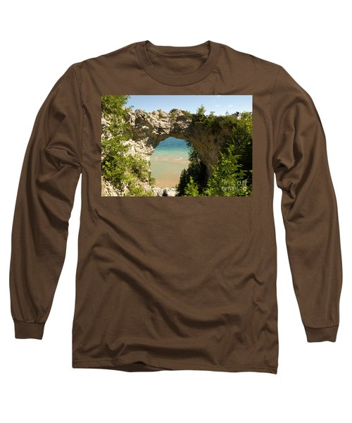 Mackinac Island Arch Long Sleeve T-Shirt