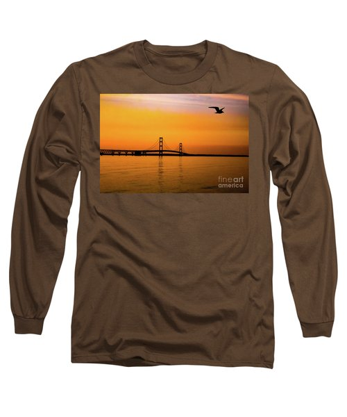 Mackinaw Sunset  Long Sleeve T-Shirt
