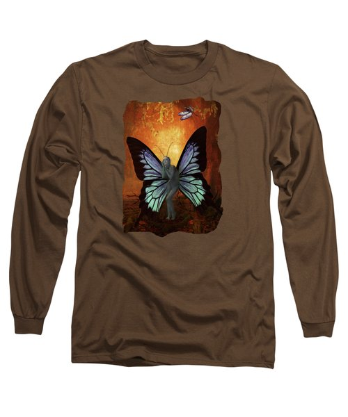 Madame Butterfly Long Sleeve T-Shirt