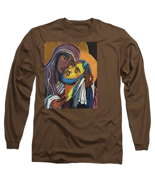 Madonna Of The Streets Long Sleeve T-Shirt