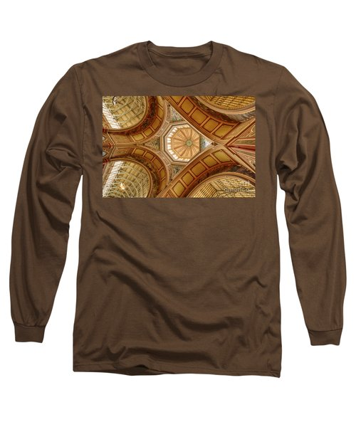 Magestic Architecture Long Sleeve T-Shirt