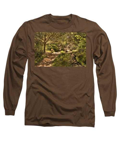 Long Sleeve T-Shirt featuring the photograph Magic Bench by Tamyra Ayles