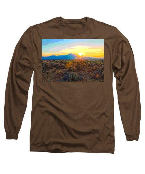 Magic Over Taos Long Sleeve T-Shirt
