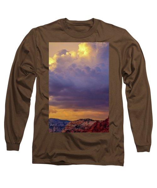 Magic Sky In Sedona Long Sleeve T-Shirt