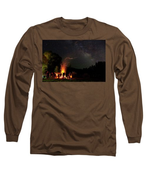 Magical Bonfire Long Sleeve T-Shirt by Matt Helm
