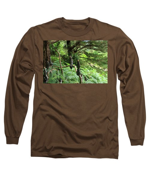 Long Sleeve T-Shirt featuring the photograph Magical Forest by Aidan Moran