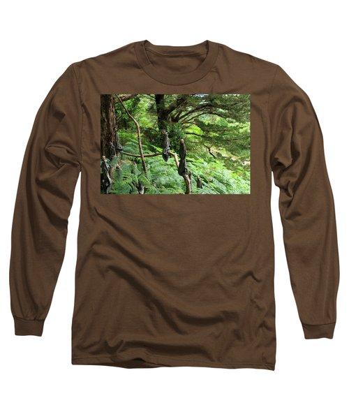 Magical Forest Long Sleeve T-Shirt by Aidan Moran