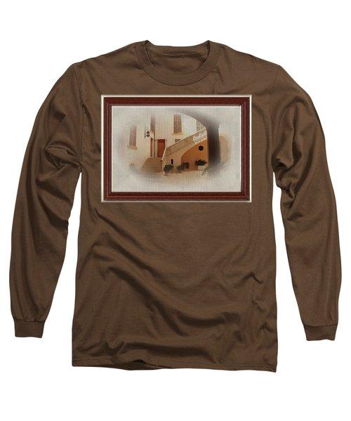 Magnificent Mexican Hacienda Long Sleeve T-Shirt