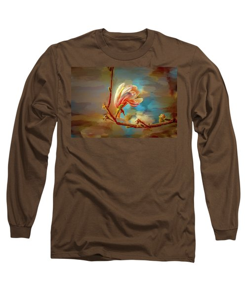 Magnolia Abs #h4 Long Sleeve T-Shirt