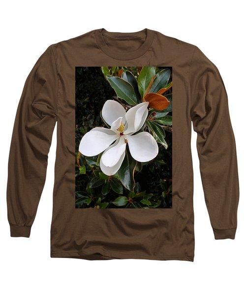 Magnolia Blossom Long Sleeve T-Shirt